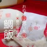 おめでたいおもいを米鯛贈り物